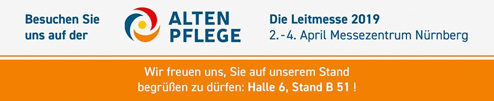 Banner Messe Altenpflege 2019