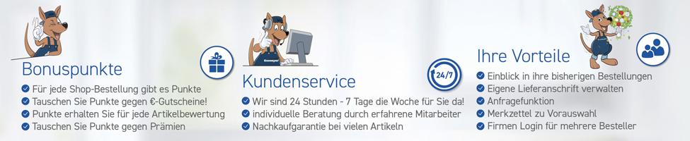 Banner Service / Vorteile